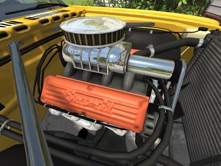 Mod Development Update: Custom Engine Gavril Barstow F2
