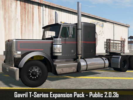 Mod Update: Gavril T-Series Expansion Pack Public 2.0.3b
