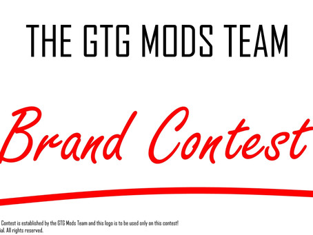 GTG Mods Team Info Squad: Brand Contest!