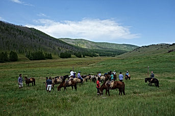 Riding Adventure Holiday in Mongolia