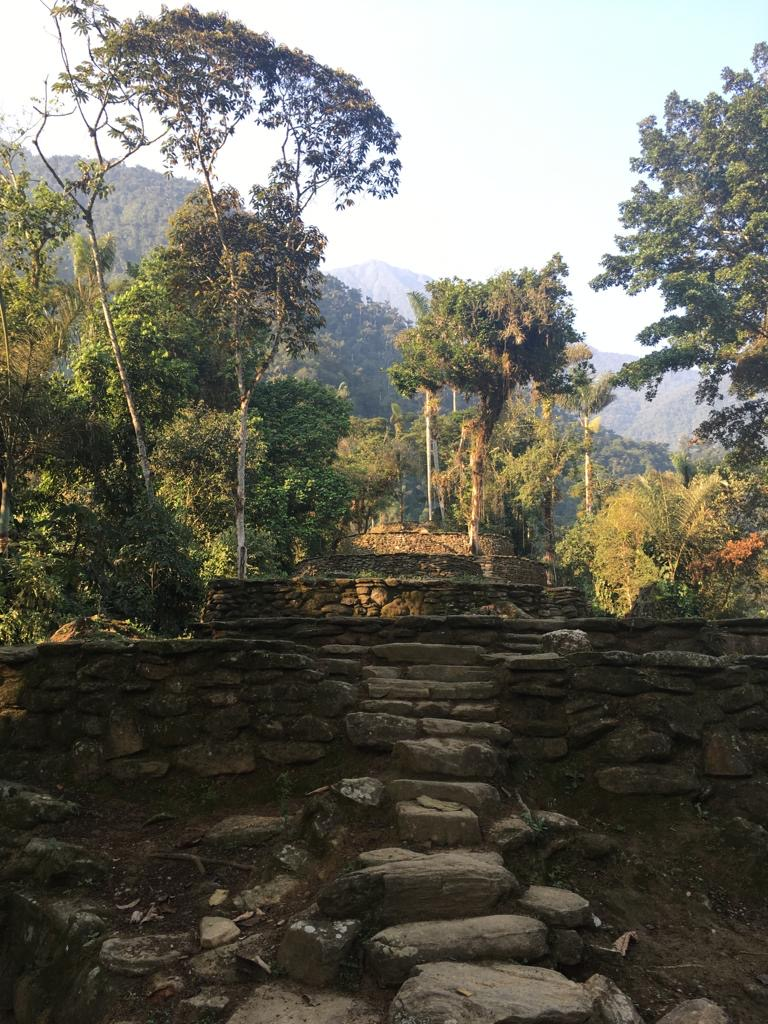 Steps to the Lost City