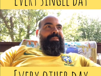 "Qual é a diferença entre ""Every Single Day"" e ""Every Other Day""?"