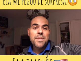 """Como se diz """"PEGOU DE SURPRESA"""" em inglês?"""