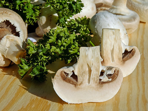 WHITE MUSHROOMS 250g