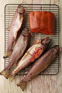 HOT SMOKED RAINBOW TROUT (2-3 Portions)