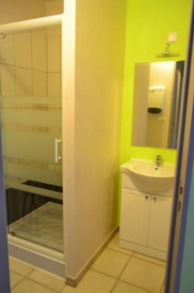 Le mas de Carrié - Appartement Le fournil - La salle de douche