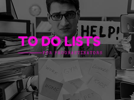 Rethinking the To-Do List App for Procrastinators