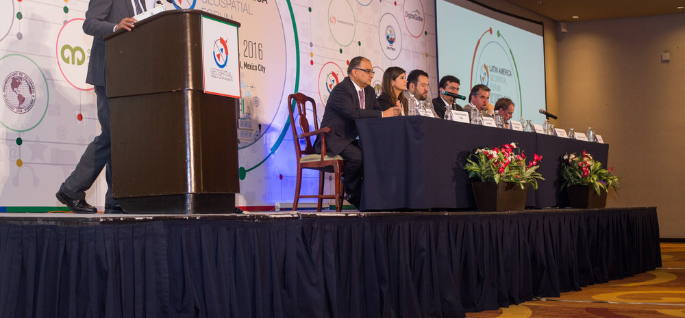 At Latin America Geospatial Forum 2016