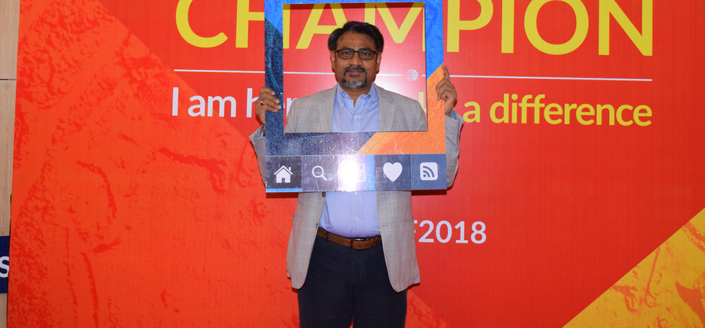 Promoting a campaign at GWF 2018