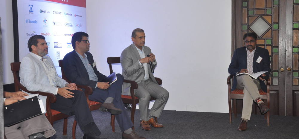 Sterring a discussion at AGI India, Leadership Summit