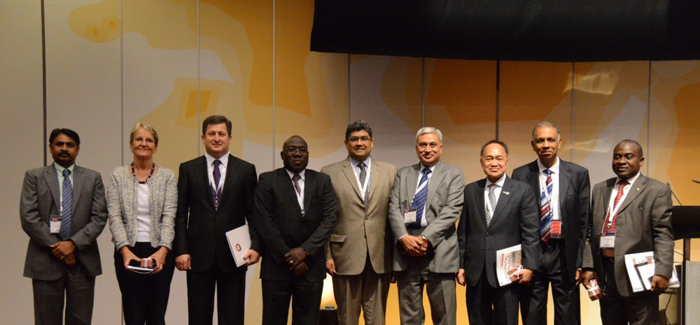At a Ministerial Panel in Geneva
