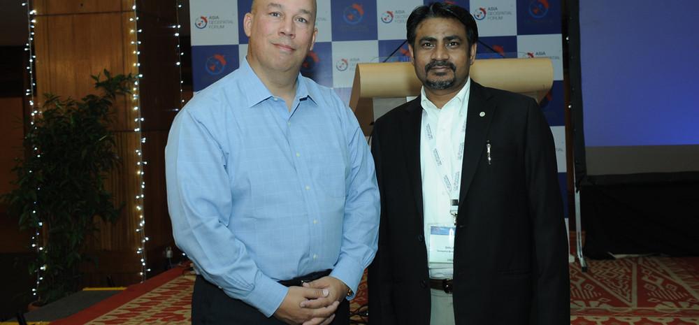 With Michael Jones