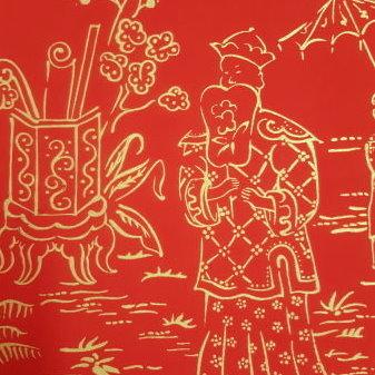 carta da parati, rosso, china