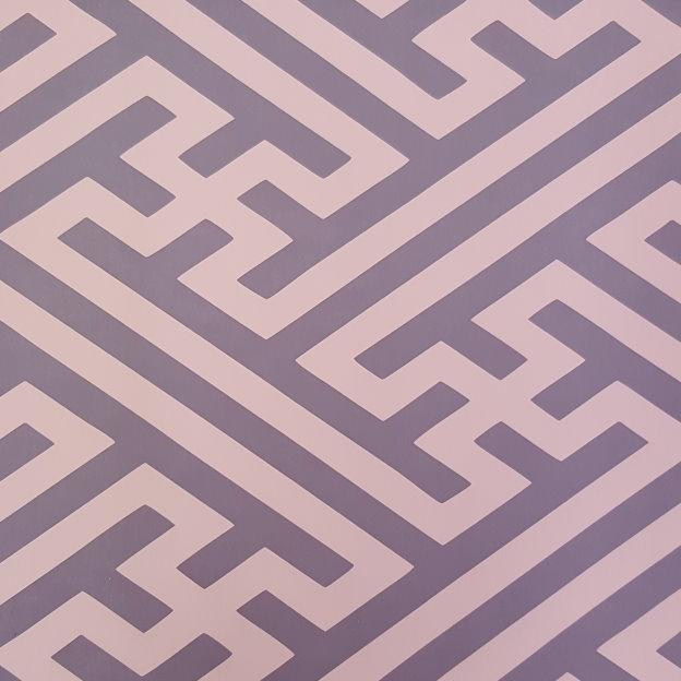 carta da parati, malva, geometrico