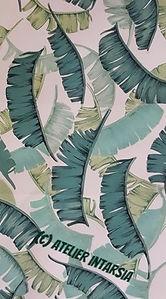 decorazioni su tessuto, carta da parati