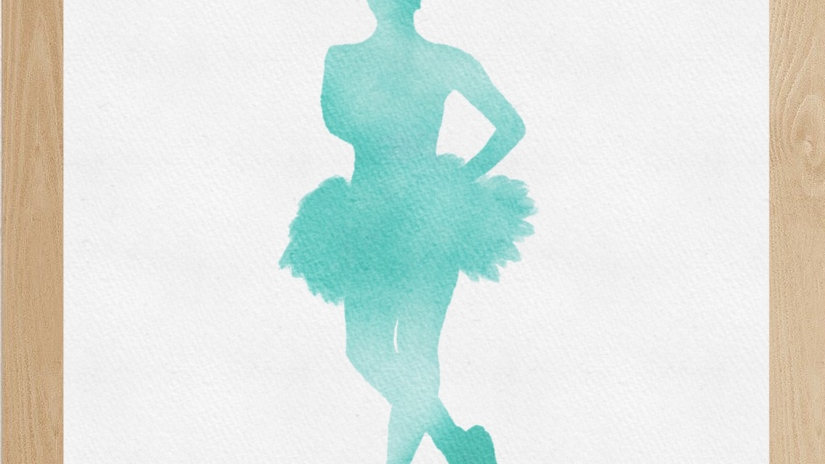 Bailarina verde 2 (AD158)