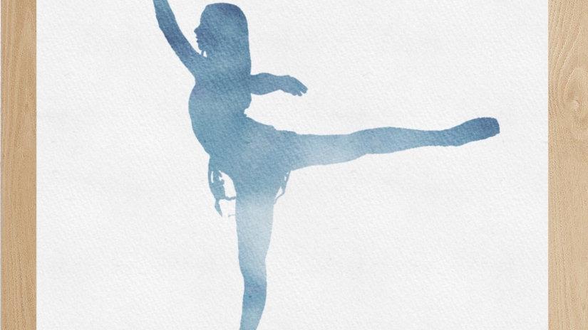 Bailarina Azul 3 (AD153)