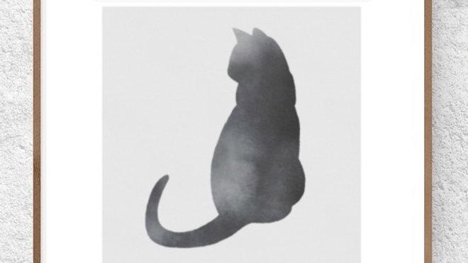 Gato preto 3 (AD183)