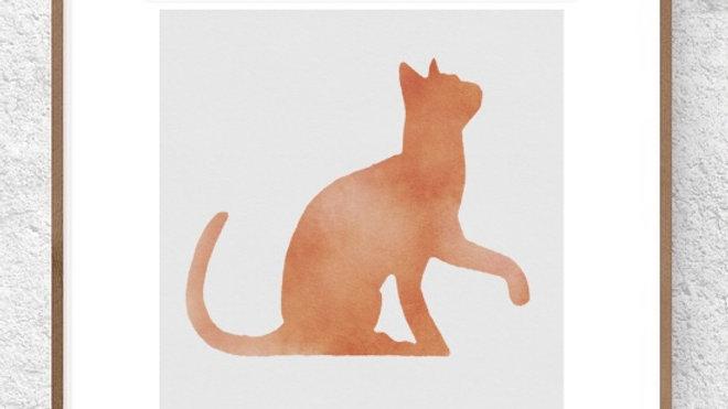 Gato laranja 1 (AD175)