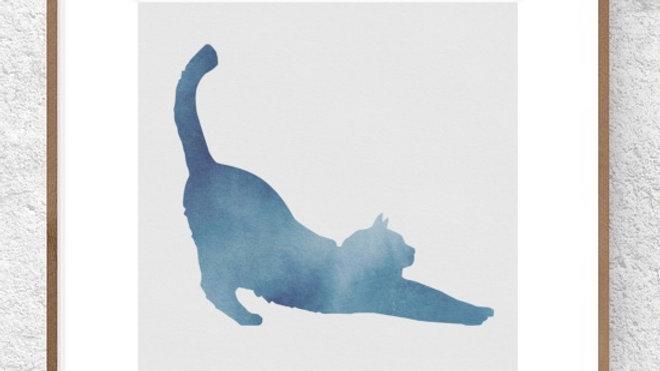 Gato azul 2 (AD173)
