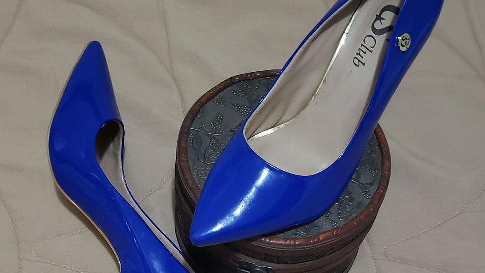 Scarpin azul (AC144)