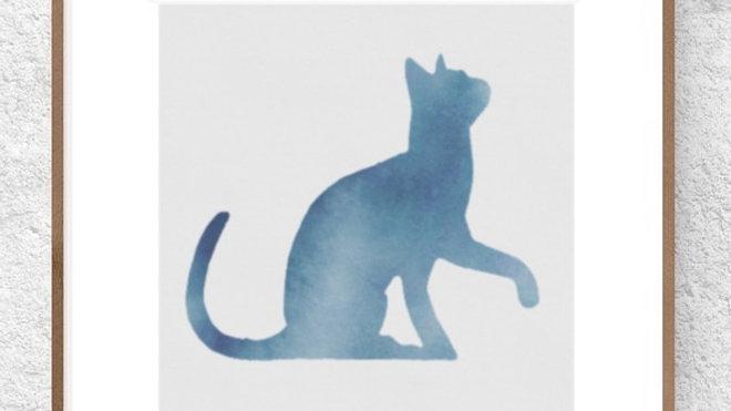 Gato azul 1 (AD172)