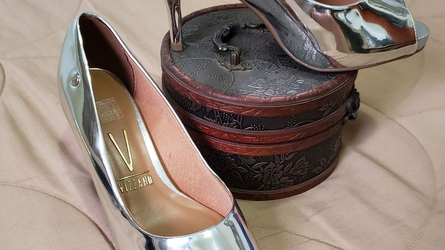 Sapato prata (AC064)
