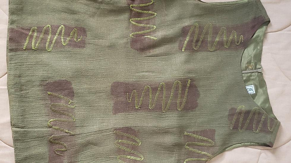 Conjunto verde musgo (R021)