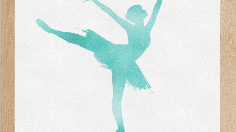 Bailarina Verde 1 (AD157)
