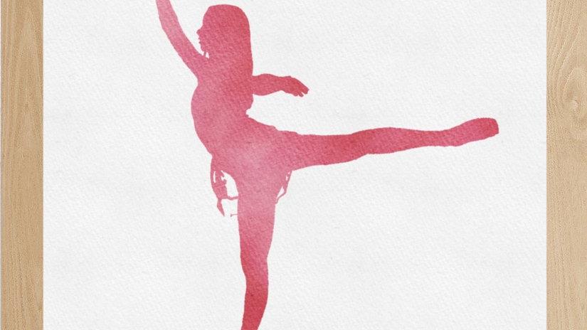 Bailarina Rosa 3 (AD156)
