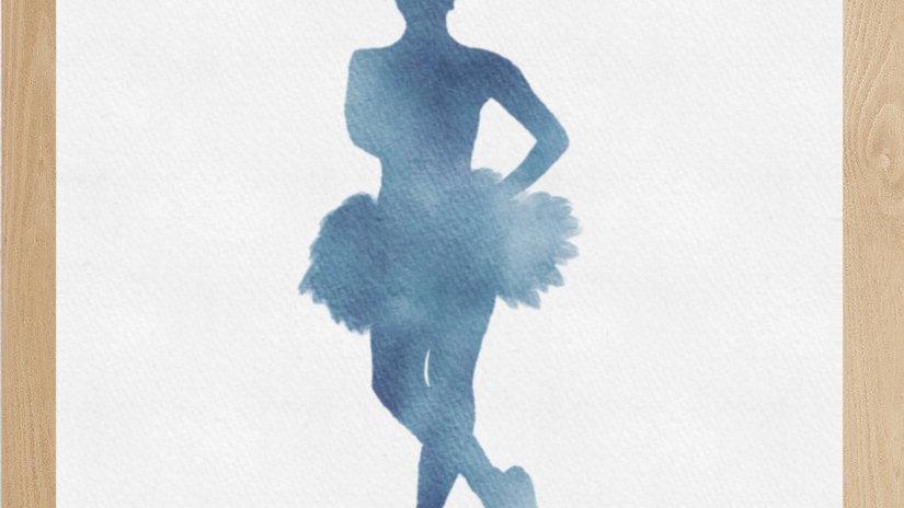 Bailarina Azul 2 (AD152)