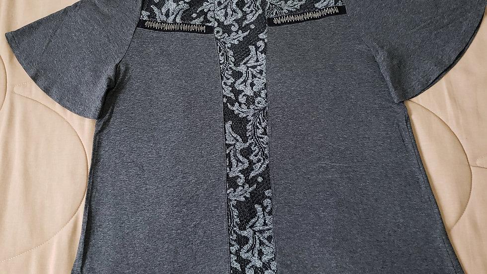 Blusa com renda (R034)