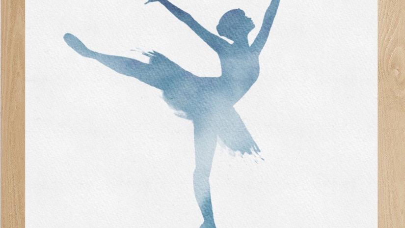 Bailarina Azul 1 (AD151)