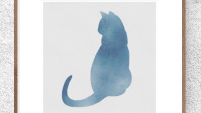 Gato azul 3 (AD174)