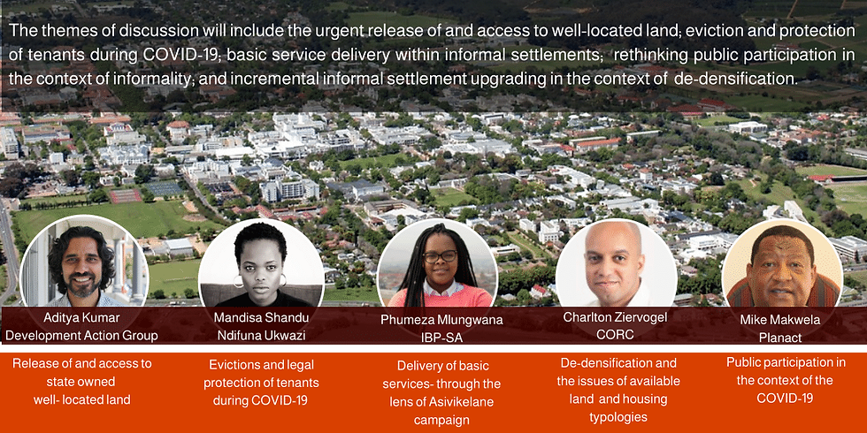 Access to land and housing in the context of COVID19