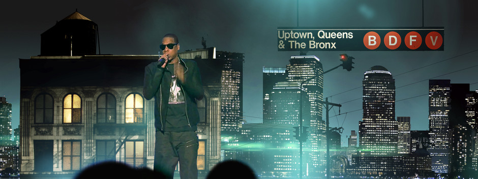 Jay-Z Empire State of Mind • Stage Design