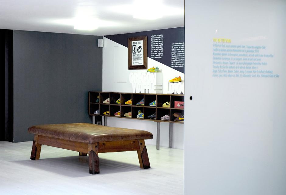 You Better Run Exhibition. Nike HQ, Paris