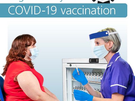 Public Health England EASY read leaflet for COVID injections