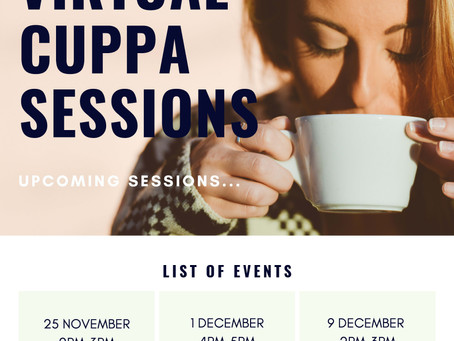 Carers Support Dorset - Virtual Cuppa Sessions