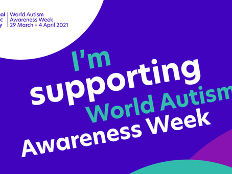 National Autism Week: 29th March - 4th April