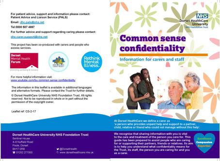 Common sense confidentiality