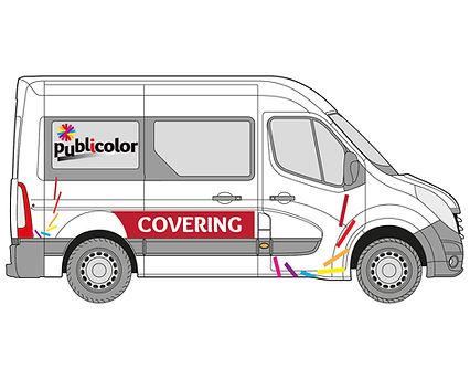 Décoration de véhicule, covering - Publicolor – Démarquez-vous !  Lettres adhésives, impression numérique, plaques magnétiques, jusqu'à l'adhésif microperforé, véhiculez votre marque, diffusez votre message en toute mobilité