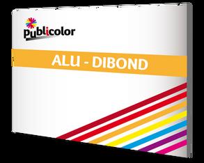 Panneau Dibond, Alu – Publicolor –  Panneau de longue durée : enseigne, 4x3...