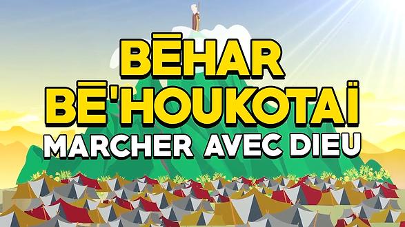 Paracha Béhar-Bé'houkotaï: Marcher avec D.ieu