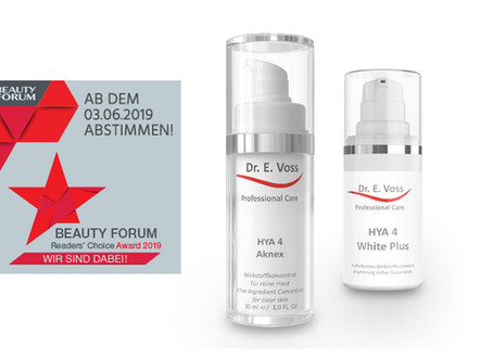 Beauty Forum Readers Choice Awards