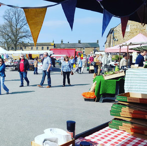 A view across the Market.