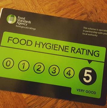 5 star rating.