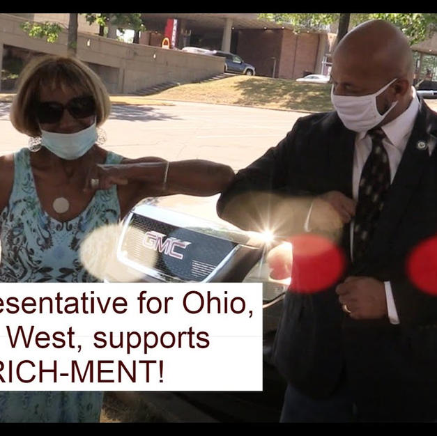 State Rep Thomas West supports  EN-RICH-MENT