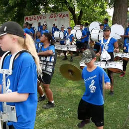 EN-RICH-MENT Drumline Garden Dedication Performance
