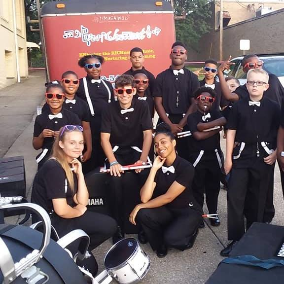 Drumline group photo